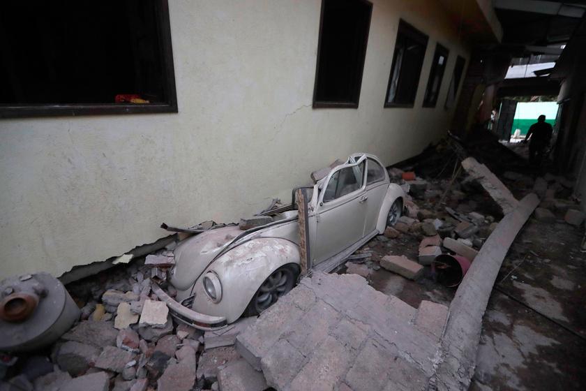 Friss fotók Mexikó földrengés sújtotta területeiről: felkavaró a látvány