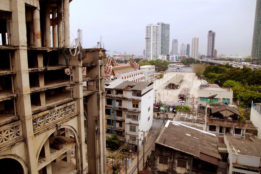 20 éve üres a szellemtorony: senki sem költözhetett be a 47 emeletes épületbe