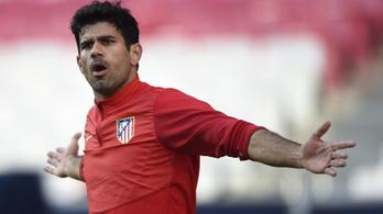 Diego Costa visszatért az Atleticóba