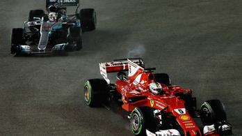 Vettelnek szerencséje van a szerencsétlenségben