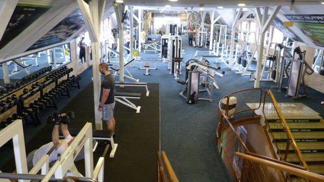 Power Gym Classic: az emelet tele van gépekkel