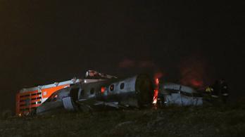 Lángoló repülő miatt zárták le az isztambuli repteret