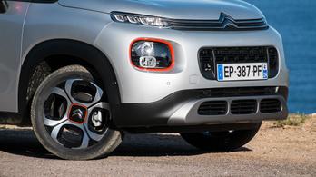 Ilyen a Citroën új, olcsó családi SUV-ja