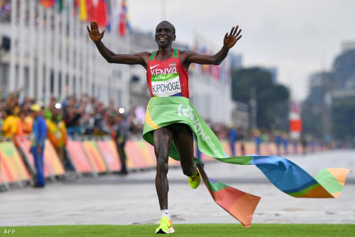 Eliud Kipchoge a riói olimpián