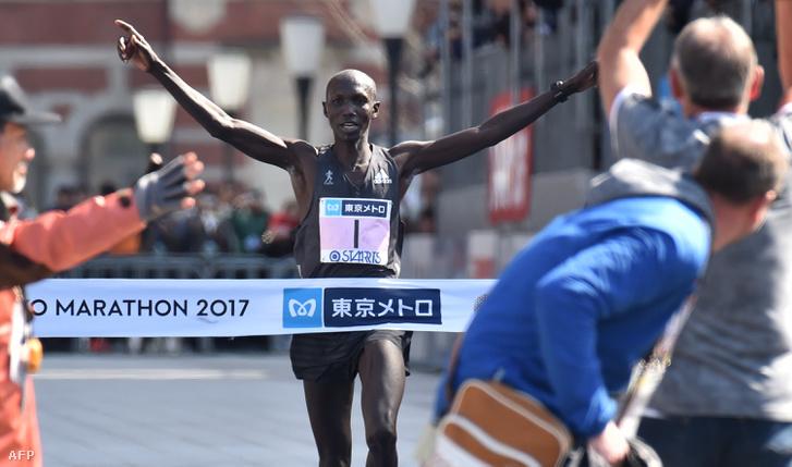 Wilson Kipsang az idei tokiói maratonon