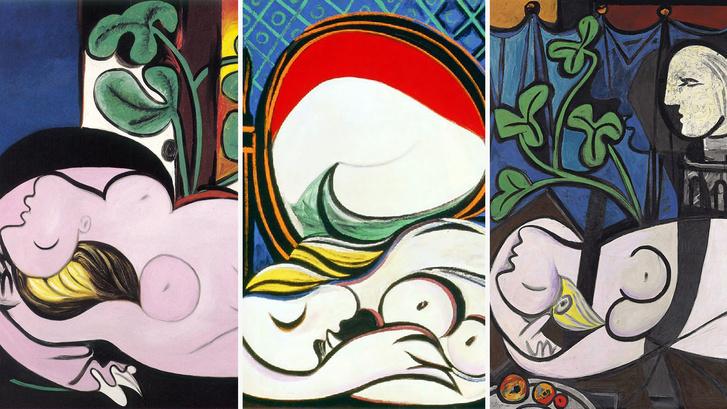 Picasso három aktja Marie-Therese Walterről