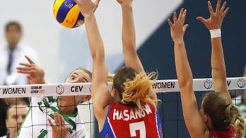 Az első szettben megvolt az esély, de végül kikapott a magyar válogatott a röplabda Eb-n
