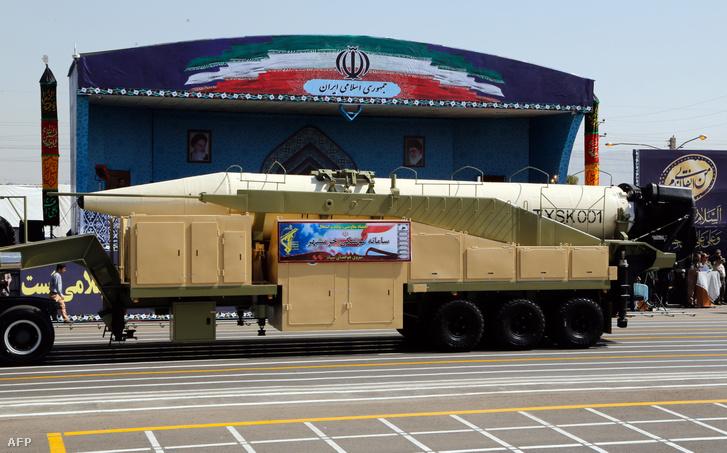 Irán új, nagy hatótávolságú rakétája