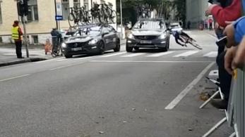 Sokkoló gázolás történt a kerékpár-vb-n