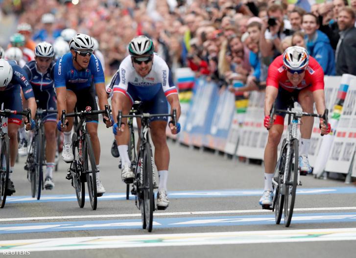 Peter Sagan harmadszor is világbajnok lett, Bergenben Alexander Kristoffot hajrázta le