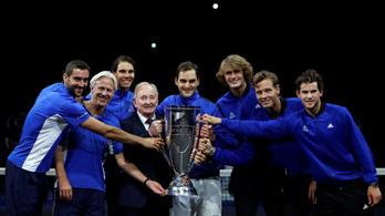 Federer drámai meccsen győzött, Európa nyerte az első Laver Kupát