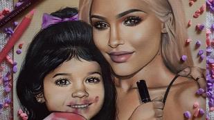 Kylie Jenner már látja maga előtt, milyen lesz a lánya szájfénnyel