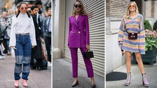 Így öltöznek az ősszel New Yorkban és Londonban