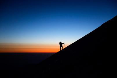 hegy-sziluett