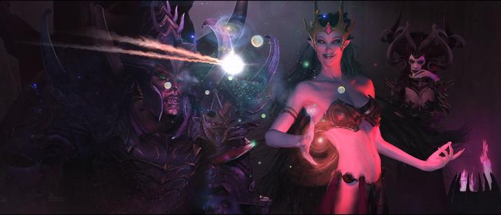 Részlet a Sötét Elfek első átvezetőjéből.
