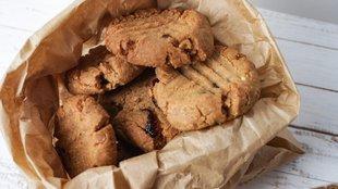 Isteni mogyoróvajas keksz