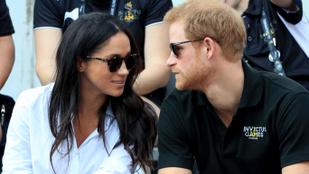Végre! Itt vannak az első közös képek Harry hercegről és Meghan Markle-ről