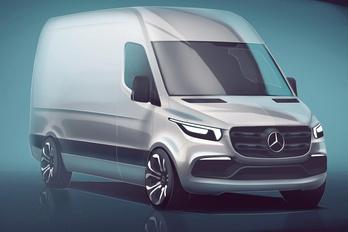 Vázlaton a következő Mercedes Sprinter
