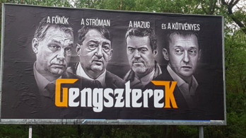 Bedurvult a Jobbik-Fidesz plakátháború