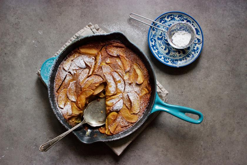 Rusztikus, sütőporos almapalacsinta - Már majdnem olyan, mint a piskóta