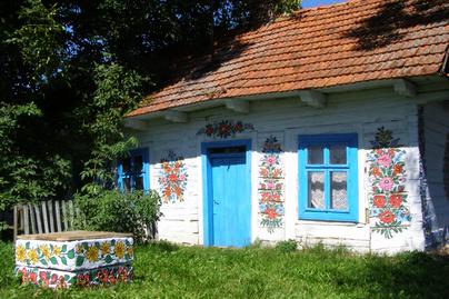 zalipie falu