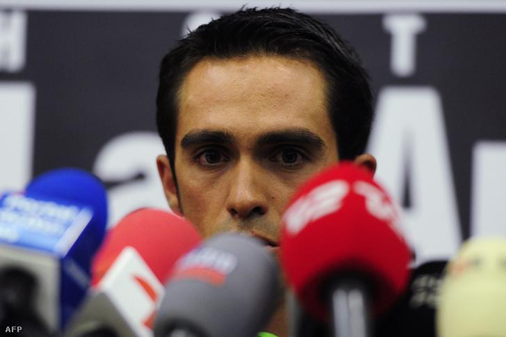 Contador a 2012-es spordöntőbírósági tárgyalásán
