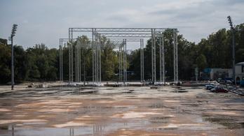 Óriási fémpókokat hagyott a Ligetben minden idők legtovább dráguló vizes világbajnoksága