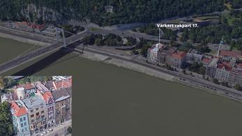 Bámulatos tetőteraszt árulnak az Erzsébet hídnál