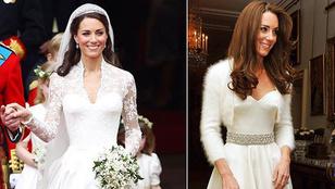 Hat évbe telt, mire kiszúrták Katalin hercegné ruháját