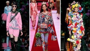 Milánói divathét: lassít Gucci, rákapcsol a Versace