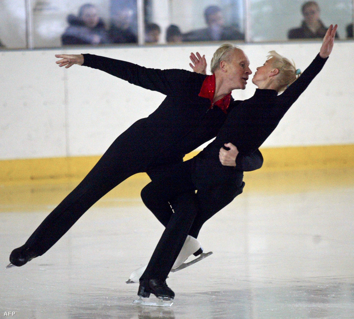 Oleg Protopopov és Ludmila Belousova 2003-ban
