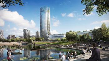 Lenyűgözően fog kinézni a MOL új székháza