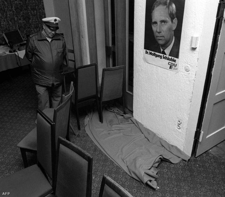 1990. október 13: a merénylet helyszíne a dél-németországi Oppenauban