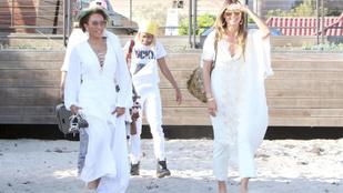 Kicsattanóan jól néz ki együtt a frissen szakított Heidi Klum és Mel B
