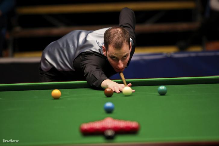 Fenyvesi Zsolt az I. Magyar Snooker Gálán