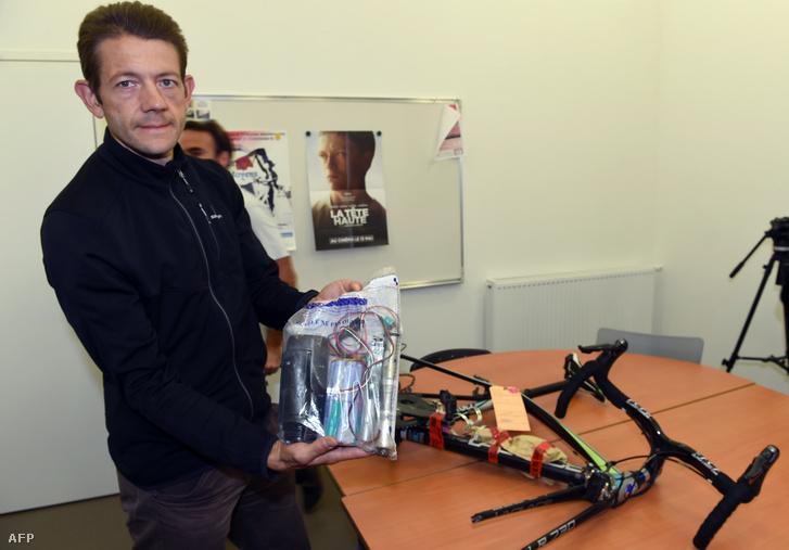 Christophe Bassons a már nem rejtett motorral