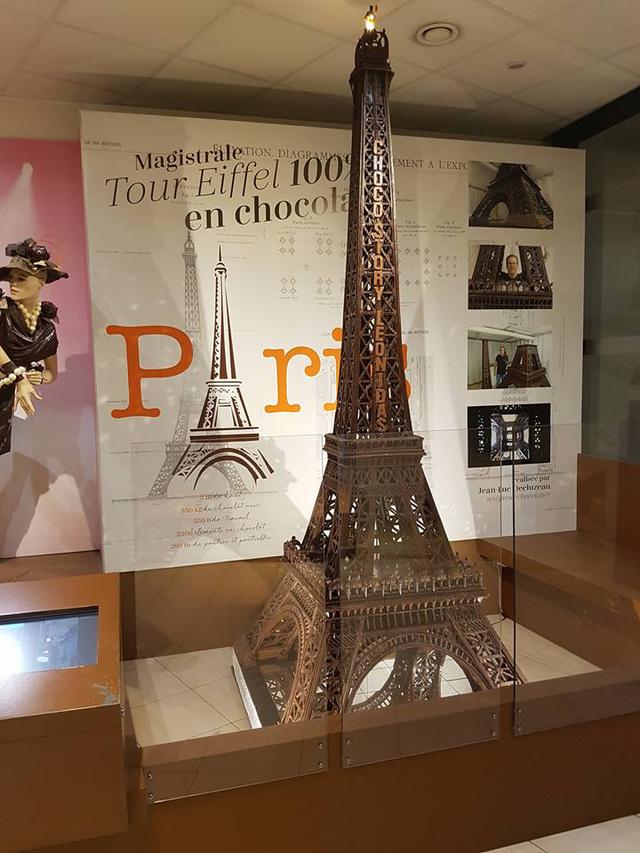 Csokicsodák Párizsban: ez is ehető