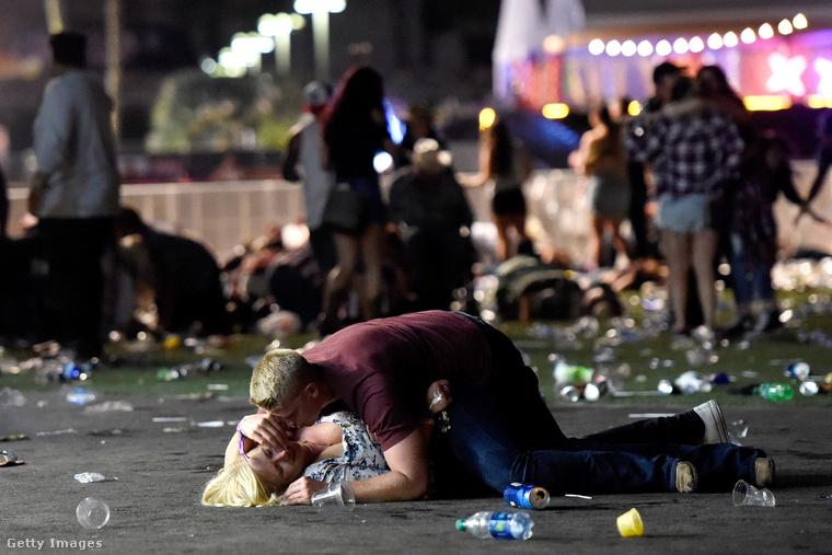 A Las Vegas-i merénylet legdrámaibb és leghíresebb fotója