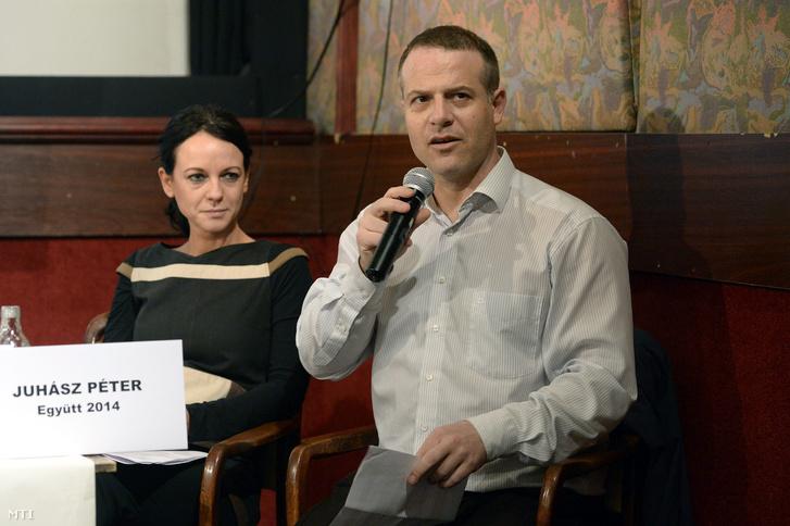 Szabó Tímea és Juhász Péter