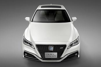 Új luxusautót mutat a Toyota