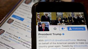 Trump maga alá gyűrte Ferenc pápát a Twitteren