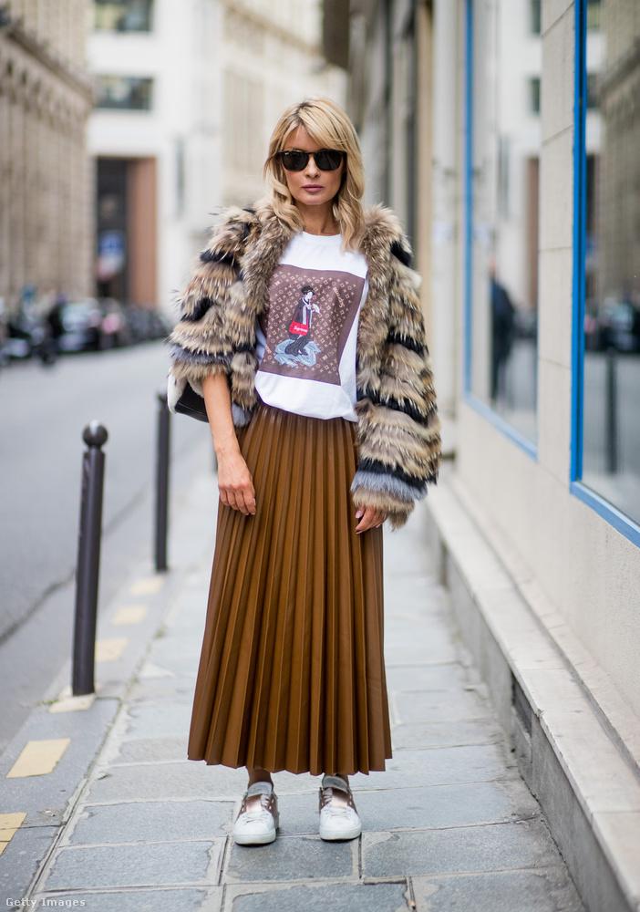 Így öltözik egy igazi párizsi az ősszel.