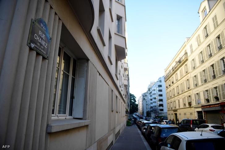 Az utca, ahol az eset történt