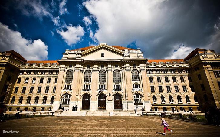 A Debreceni Egyetem épülete