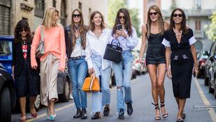 Utcai divat: Milánó-Párizs