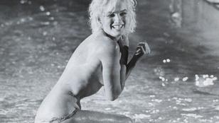 Ritka, meztelen fotók bukkantak fel Marilyn Monroe-ról
