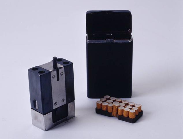 A KGB kémek csodafegyvere 1950-ből: likvidálókészlet cigarettának álcázva