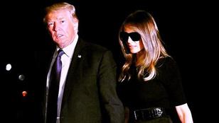 Most a napszemüveg-mániája miattt osztják Trumpnét