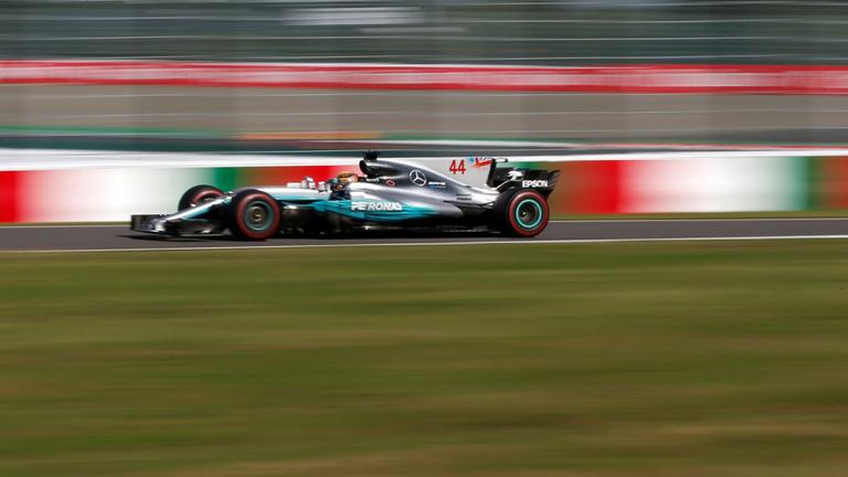 Hamiltoné a Japán GP, Vettel duplán elszállt