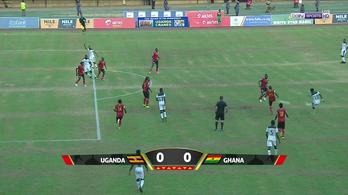 94. perces fantomles üthette el Ghánát a vb-től